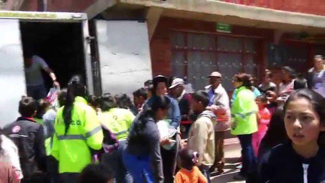 Brigada de Avivamiento Misericordia en el Barrio Diana Turbay – Sector cultivos