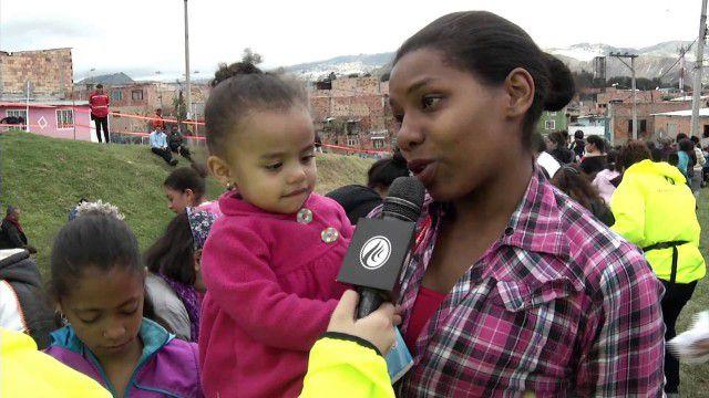Brigada de Avivamiento Misericordia en los barrios La Paz y Caracas de Bogotá