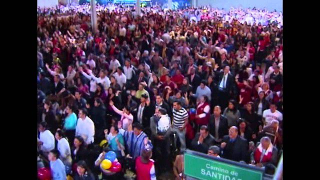 Noticias RCN en el Congreso Mundial de Avivamiento 2013