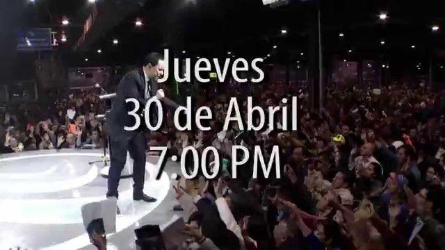 Gran reunión de Avivamiento jueves 30 de abril