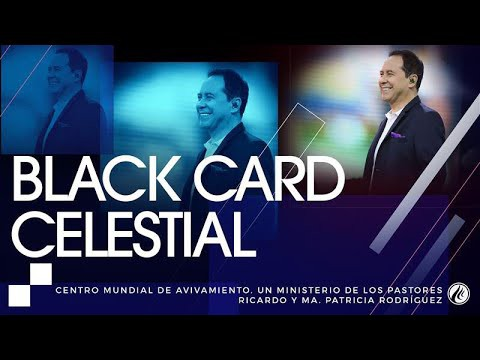 #94 Black card celestial – Pastor Ricardo Rodríguez