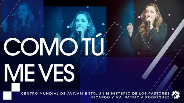 #123 Como Tú me ves – Pastora Ana María Rodríguez