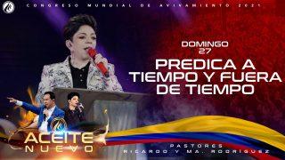 Predica a tiempo y fuera de tiempo | Pastora Ma. Patricia Rodríguez – CMA 2021